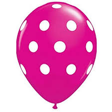 polka dot balloons party decoration pink polka dot balloons 12