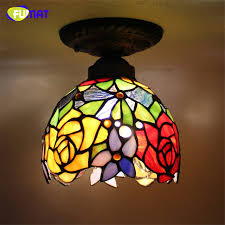 stained glass ceiling light fixtures fumat glass ceiling l european baroque stained glass indoor light