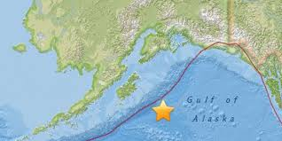Southeast Alaska Map Tsunami Warning Canceled After Massive 7 9 Alaska Earthquake