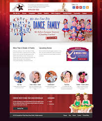 a step above dance studio website webdesign socialmedia nowmg