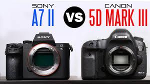 5d mark iii black friday sony a7 ii vs canon 5d mark iii comparison youtube