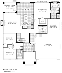 bungalow house floor plan brilliant bungalow floor plans home