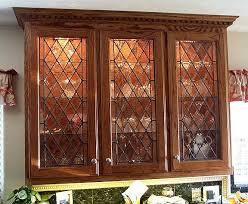 Cabinet Door Glass Insert Kitchen Cabinets Glass Inserts Quicua