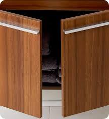 Teak Bathroom Vanity by Fresca Fvn8090tk Vista 36