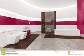 interieur salle de bain moderne intérieur blanc et rose contemporain moderne de salle de bains
