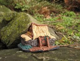 polymer clay home decor skyrim village fairy house elder scrolls inspired miniature