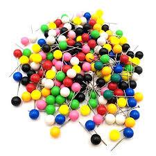 map tacks chic 50 100 200 300 400pcs map tacks push pins plastic