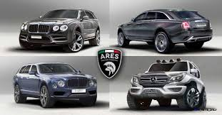 bentley suv inside ares modena renders 4 pack of 2019 megabuck suvs rr ghost ii
