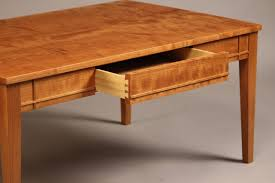 Solid Wood Coffee Tables Doucette And Wolfe Fine Furniture Makers Coffee Table