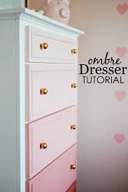 best 25 baby girl room decor ideas on pinterest girl nursery diy ombre dresser tutorial