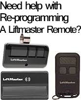 Reprogram Garage Door Opener liftmaster garage door opener lift master repair parts u0026 remotes