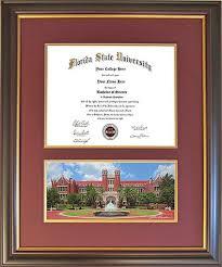 fsu diploma frame diploma frame for florida state westcott