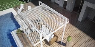 tettoia autoportante pergola a lamelle koevo autoportante pergola in alluminio con