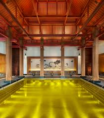 the st regis lhasa resort features a gold energy pool a constant