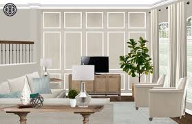 Elegant Living Room Wallpaper Sara Vander Molen Interior Designer Havenly