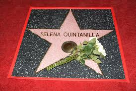 selena honored with walk of fame