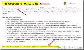 Dns Lookup How A Domain by Error 105 How To Fix Error 105 In Google Chrome