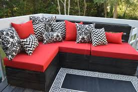 Pallet Patio Furniture Cushions by Cushion Cushions For Pallet Crate Chair Bench Furniture