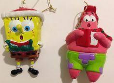 carlton heirloom 2011 spongebob squarepants and sledding