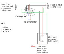 best one way light switch wiring diagram gallery within for