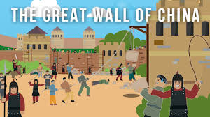 Map Great Wall Of China by The Great Wall Of China World Wonder Youtube
