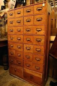 library file media cabinet dewey decimal system cabinet vintage fir library card catalog file