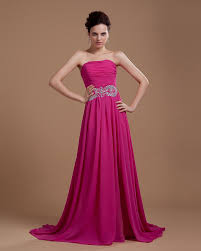 fuschia wedding dress fits perfectly strapless beaded fuschia prom gown on sale fits