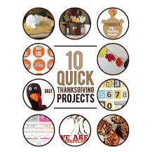 10 thanksgiving projects company