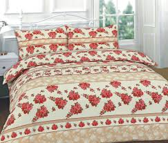 Printed Duvet Cover Roses Floral Printed Duvet Cover Set Payndoo Style