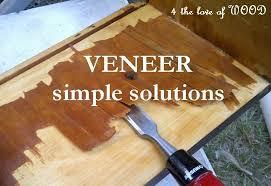 how to wood veneer furniture 4 veneer removal working smart not wood repair