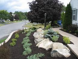 Garden Hardscape Ideas Front Garden Landscaping Ideas I Yard Regarding Landscape For A