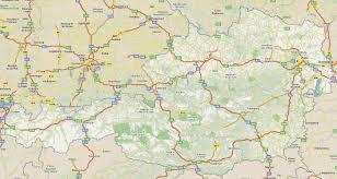 Map Austria Footiemap Com Austria 2013 2014 Map Of Top Tier Austrian