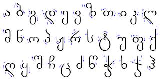 georgian scripts wikipedia