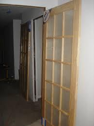 brilliant sliding french doors interior home depot closet mirror