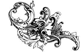 baroque ornament vectors vol1 vector free vectors vector me
