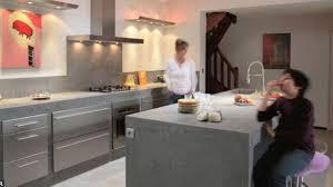 cuisine en béton ciré déco cuisine beton cire