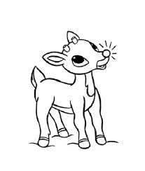 christmas reindeer coloring pages learntoride
