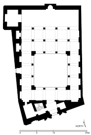 Floor Plan Of A Mosque by Floor Plan Of Aqmar Mosque Cairo Archnet