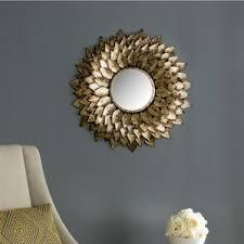 Rhinestone Wall Mirror Sunburst Mirrors You U0027ll Love Wayfair