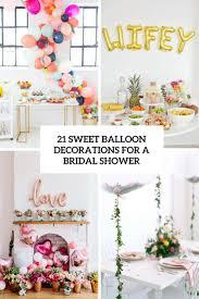 bridal shower balloon decoration ideas home decor ideas