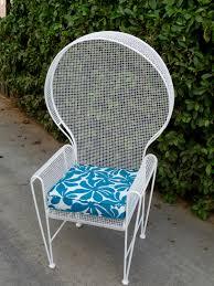 Woodard Iron Patio Furniture - rare russell woodard patio chair outdoor patio furniture cast