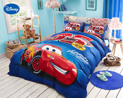 chambre mcqueen aliexpress com buy blue disney lightning mcqueen printed