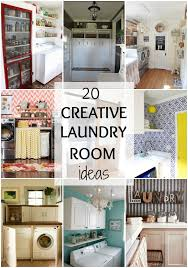 Laundry Room Decorations Creative Laundry Room Ideas For Your Home 20 Ways To Get Organized