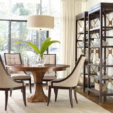 White Pedestal Dining Table Sienna Solid Top Pedestal Dining Table By Keystone Hillsdale