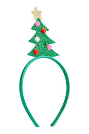 alice band with christmas tree green h u0026m gb