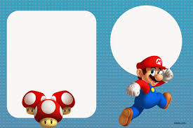 free printable super mario bros invitation template drevio