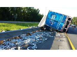 bud light gold can rules beer cans litter i 75 after bud light truck crashes land o lakes