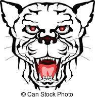 cougar football tribal cougar nation football team design
