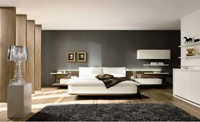 bedrooms dark grey bed light grey wall paint purple and gray