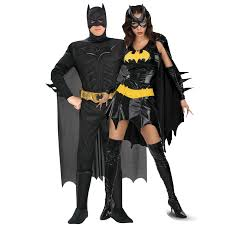 Bat Woman Halloween Costumes by Batman And Bat Deluxe Couples Costume Fantastiquecostume